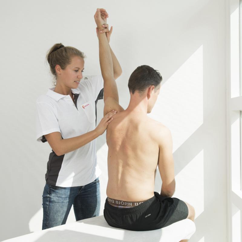 Fysiotherapie bij schouderklachten