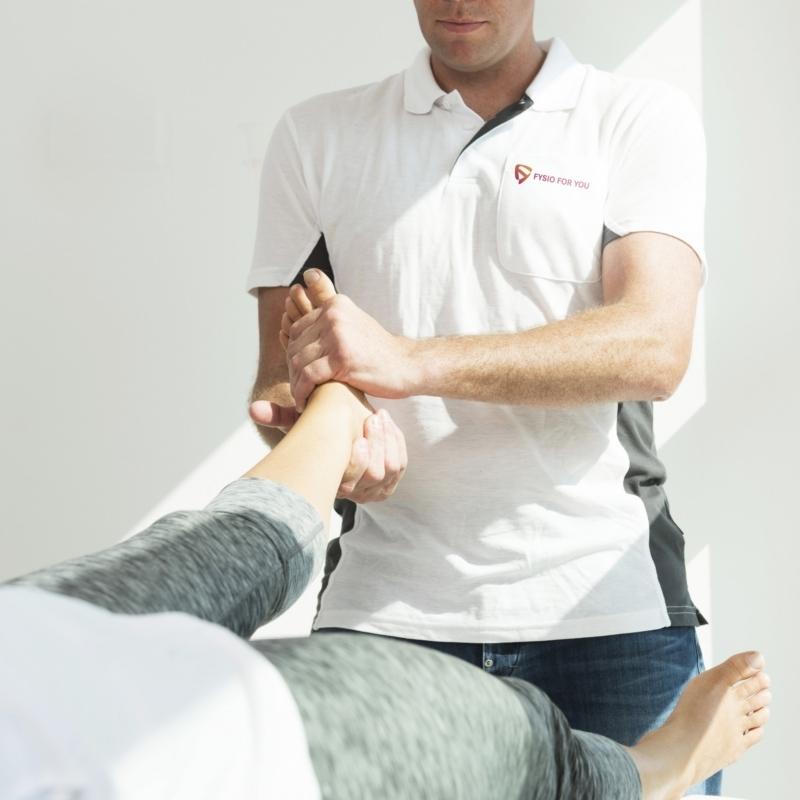 Fysiotherapie bij enkelblessures